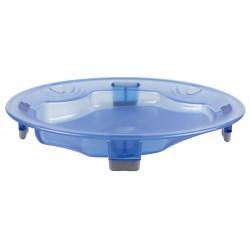 assiette plate, à rebord, compartimentée, isotherme, thermodynamique